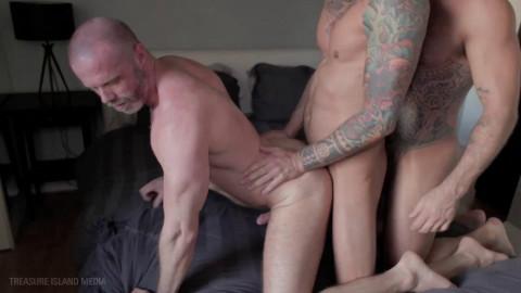 3some Dolf Dietrich, Drew Sebastian & Freddy Miller 720p