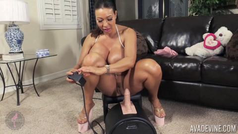 Ava Devine in Fucks Sybian