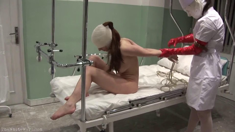 Hard restraint bondage, domination and torment for hawt model part 2