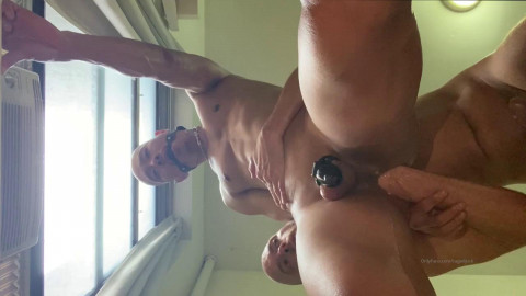 Jake Lawrence and Cagedjock