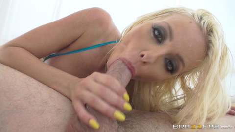 Sexy Blonde Stripper In A Hot Anal Action