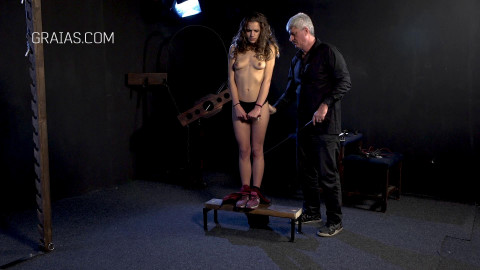 Graias - The punishment of a young model