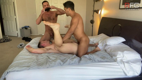 Best Threesome With Johnny & Ricky