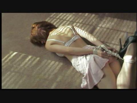 Angele fonce wrong lady acquires restraint bondage