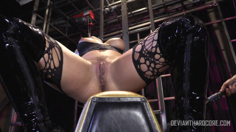 Holly Heart rough anal BDSM