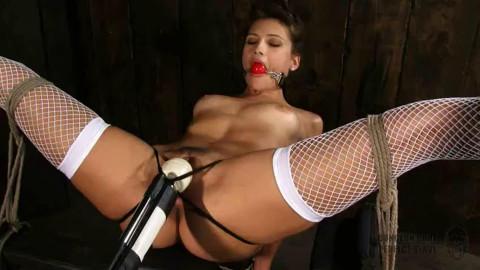 Tight restraint bondage, spanking and ache for nude hawt model HD 1080p