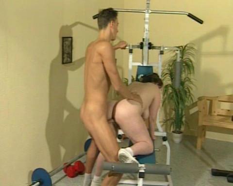 Fat ma's sex workout