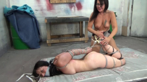 Held Captive By Demented Older Lesbian