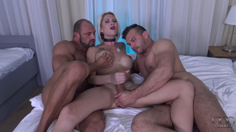 Danni Daniels Hot Threesome (2017)