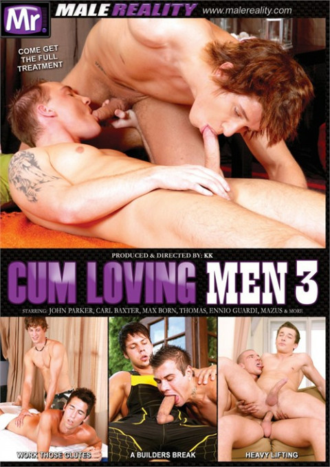 Male Reality - Cum Loving Men Part 3
