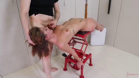 Heavy restraint bondage, spanking and domination for hawt slavegirl Full HD 1080p