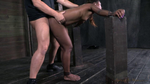 Throat Trained In Strict Bondage