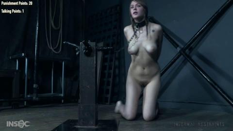 Super restraint bondage, domination and soreness for slutty angel part2 HD 1080p