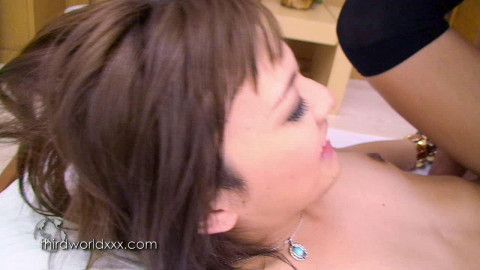 Mao Asagiri - They share pre-cum dribble togeth Hardcore Anal (2012)