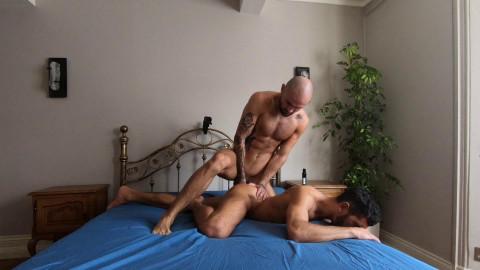 RawAlphaMales - Jeffrey Lloyd Tears Up Valentin Amours Sex Hole