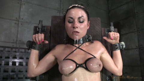 Shackled & Destroyed By Two Big Cocks (Veruca James) SexuallyBroken