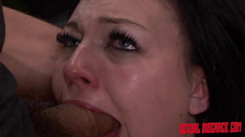 Sexualdisgrace - Feb 05, 2015 - Nikki Bell Continues Fucking Machine Rope Bondage