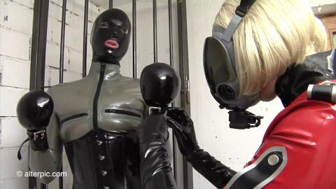 Ultra Latex - Gas Mask Girls