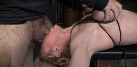 Darling Huge Squirting Orgasms And Epic Deepthroat On Bbc In Strict Bondage!