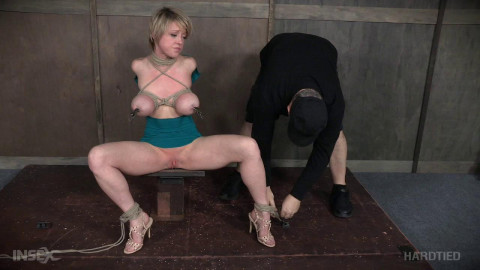 Busty Slave Dee Williams Shared Rope
