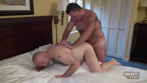 Older4Me Patrick Montana & Will Stone - Daddy On Daddy Raw
