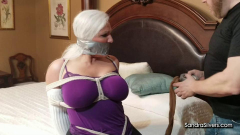 Sandra Silvers - Slouch Socked MOTHER ID LIKE TO FUCK & the Brutal Break In