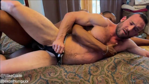 Mike Gaite Takes XXL Cock From ExcelHungXXX - Part 1