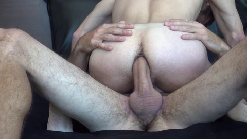 Nice big cock inside tight ass
