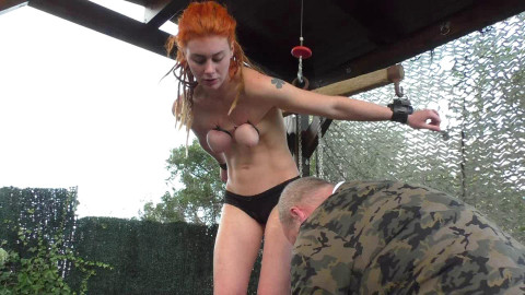 Master of Pain - Sexy Muriel in severe Pain