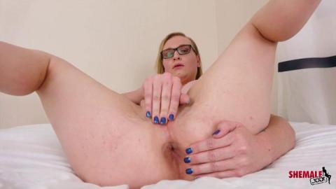 Sarah Silver Jacks Her Hard Cock