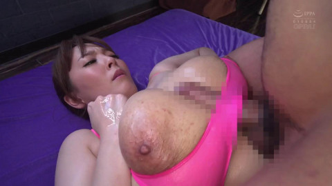 Cumming All Over Her Tits While