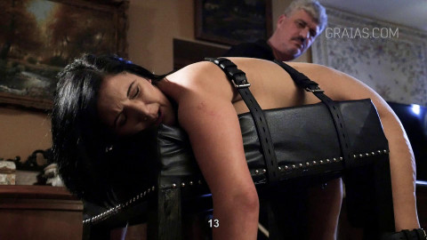 Roxy Gets Punished With 217 Strokes