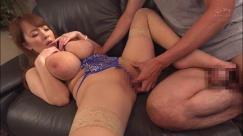 Ultra-Huge Tits Hitomi Enjoys Creampie Fuck