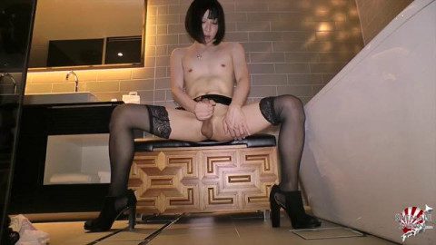 Miharu Blows Her Load