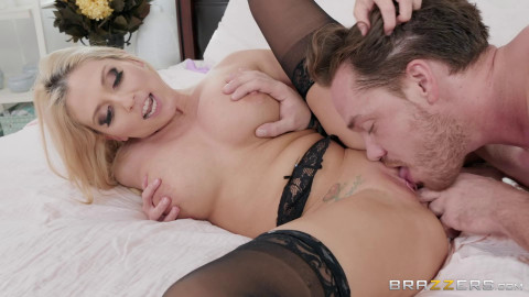 Mommy Got Boobs - Christie Stevens - My Blindfolded Stepmom