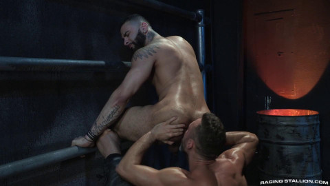 Beards, Bulges & Ballsacks!, Scene 3