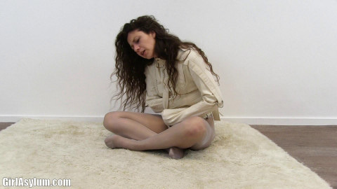Brunette straitjacket