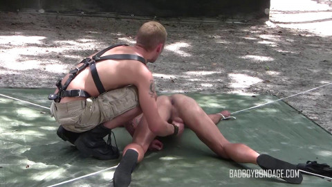 Hot Jock Oiled Up & Played With