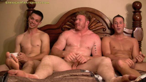 Straight Fraternity - Chicken 7 - Luke, Dane & Aiden