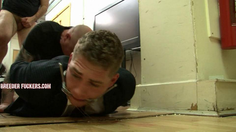 Aaron - Entrapped, pinned to the floor