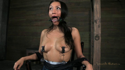 Hot Latina is overloaded with cock