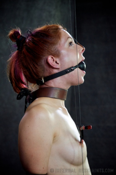 IR - For Bondage's Sake, Part Two - Redhead Calico Lane - HD