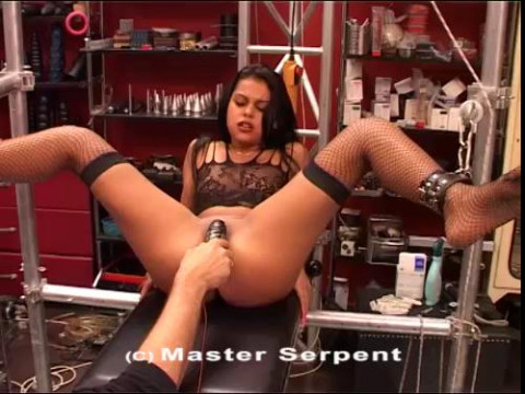 Brunette Hard Pussy And Tits Torture Part Three