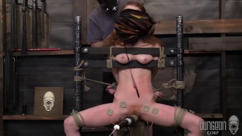 Restraint bondage, spanking and castigation for hot hawt slavegirl part ASS TO MOUTH