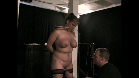 More heavy Tit Pain for Lexa Lane - Cam 2