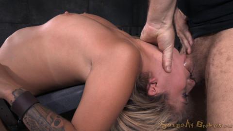 Sexy Blonde Madelyn Monroe - Brutal Deepthroat!(Aug 2015)