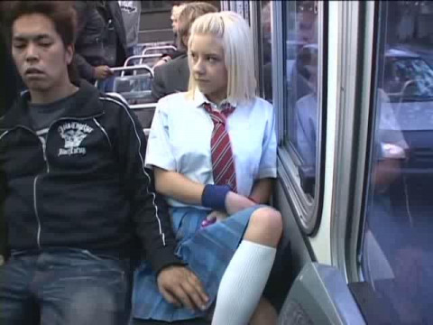 Chikan The  Gropers Blonde School Girls in LA # 02