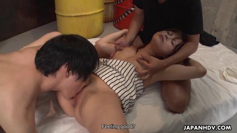 Erena Mizuhara and Kotori Shirayuki in some bondage joy