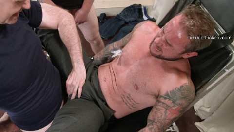 Ian-Strapped to a gyno bench