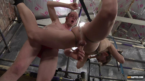 Milking The Twink Captive